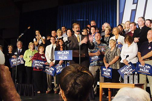 McCain-Palin Rally 034