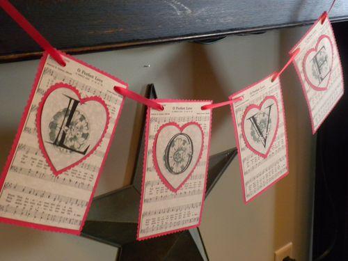 Heart garland 17