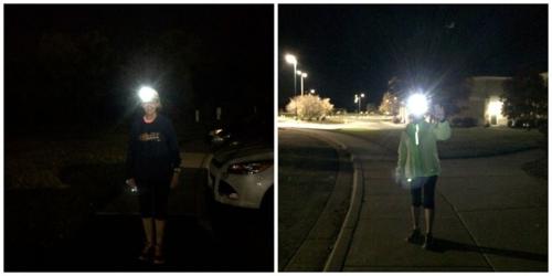 Headlamp run